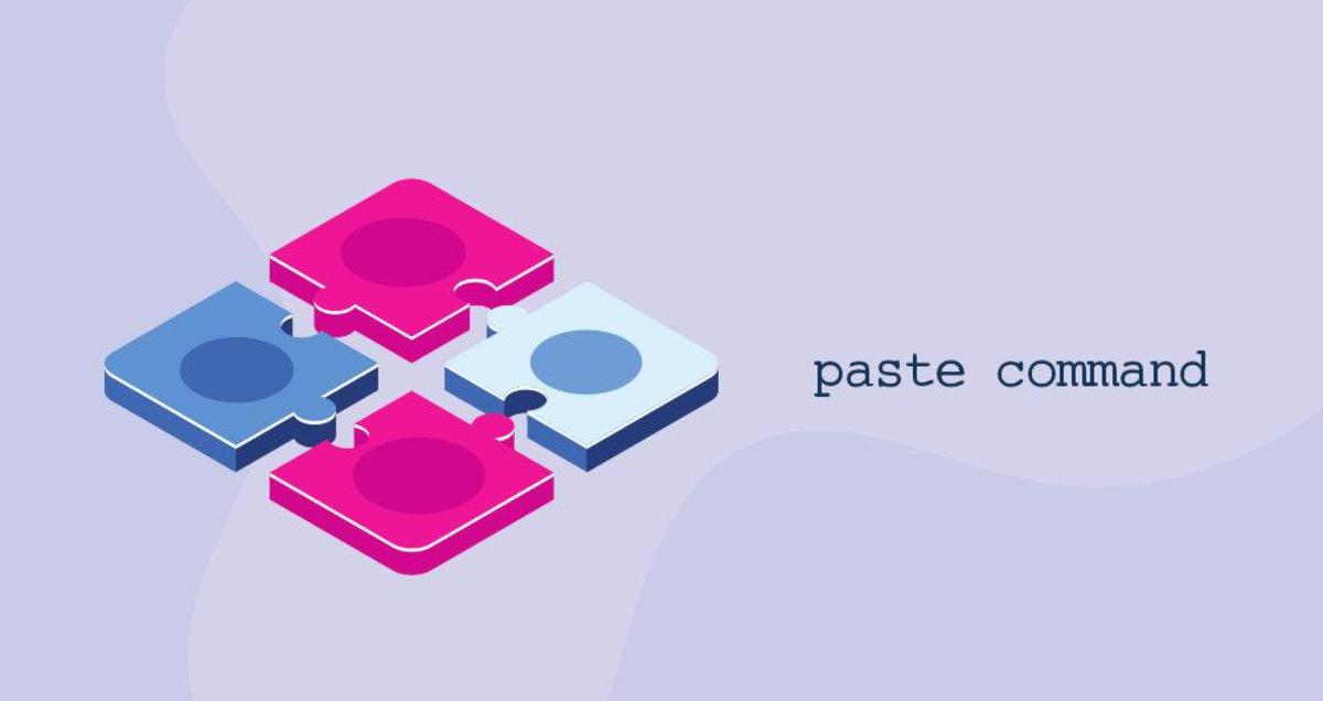 Linux中的paste粘贴命令(合并行)